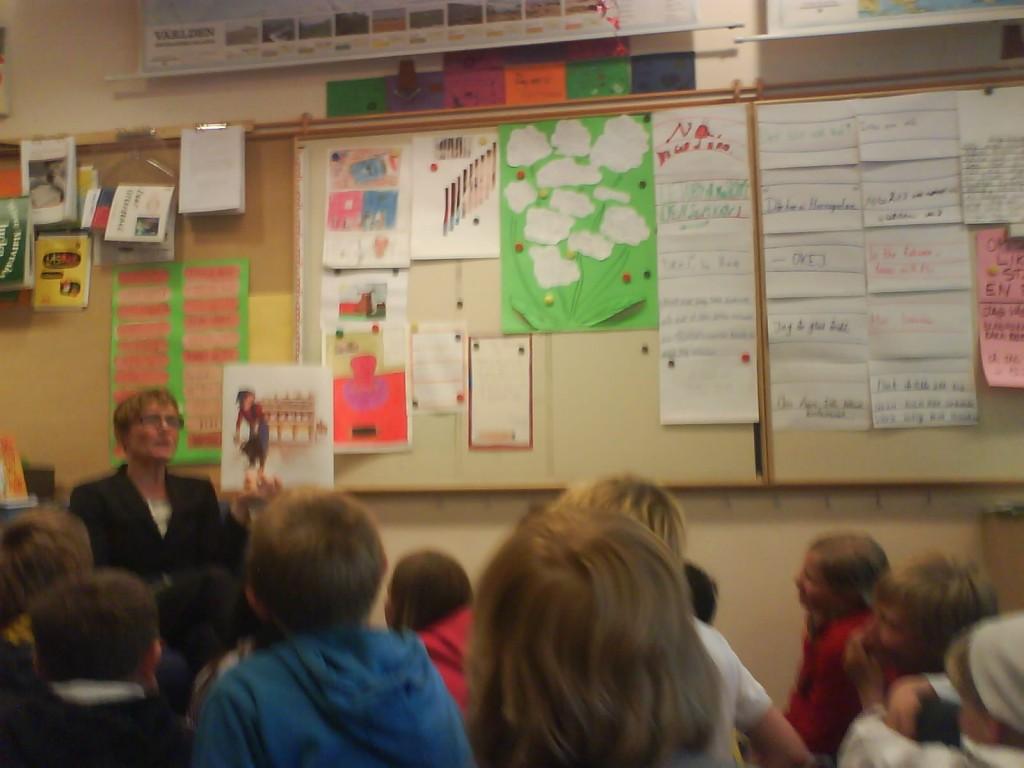 På besök i Anne-Maries klassrum